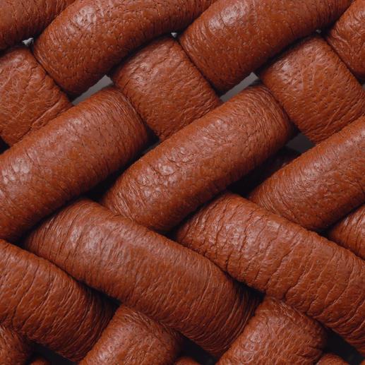 Elastischer Leder-Flechtgürtel Genial bequemer Ledergürtel: stufenlos verstellbar und sogar elastisch.