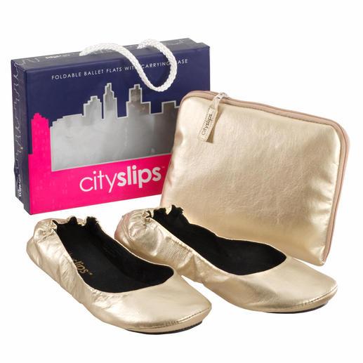 CitySlips™ Erholung für High-Heels geplagte Füße. Und Top Trend auf New Yorks Straßen.