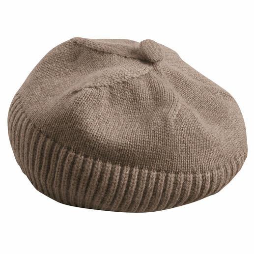 Mütze, Beige-meliert