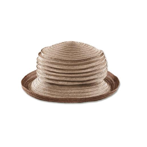 Mayser Ziehharmonika-Hut Faltbar und fast unverwüstlich: Der bortengenähte Ziehharmonika-Hut aus Hanf.