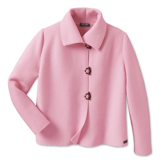 Belle ile-Strickjacke Edel wie eine Couture-Jacke. Vielseitig wie eine Jeansjacke. Und bequem wie eine Strickjacke.
