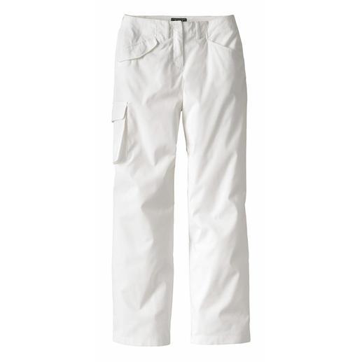 schlanke_cargo_pants - Weiß