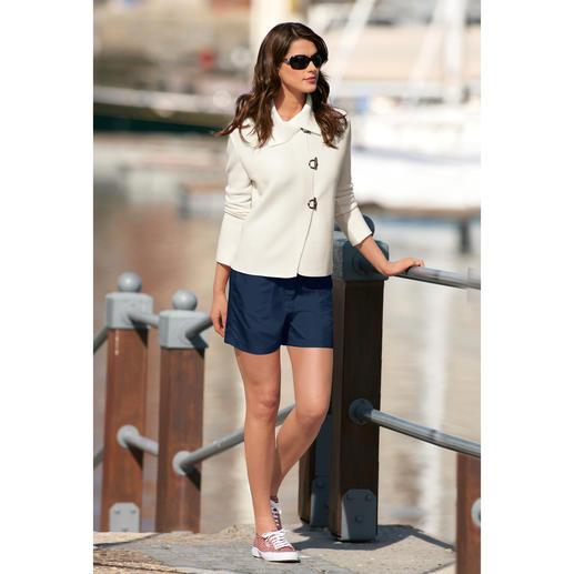 microfaser_shorts - Marine