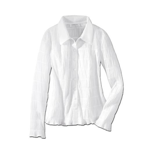 Crash-Bluse Easycare - Crash: die wohl unkomplizierteste weiße Bluse, die Sie je hatten. Bequem elastisch und immer in Bestform.