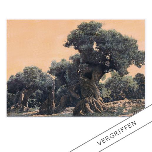 Ingo Wegerl – Der Olivenbaum Erste handübermalte Leinwandedition von Ingo Wegerl. Jedes Werk mit unverwechselbarem Unikatcharakter. Niedrig limitiert – in zwei Grössen erhältlich.