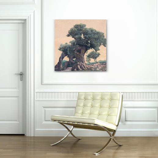"""""""Olivenbaum"""" ist in den Größen 75 x 75 cm ..."""