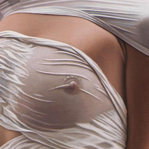 Sein Markenzeichen: Die Figuren sind stets verhüllt und niemals nackt zu sehen.