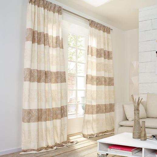 """Vorhang """"Filo"""", 1 Vorhang Der Technik- und Dessin-Mix nobelster Designerstoffe – zu einem sehr erschwinglichen Preis."""