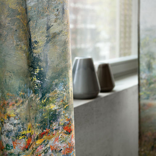 """Vorhang """"Painting"""", 1 Vorhang Textil Kollektion """"Voyage""""."""