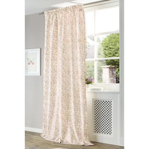 """Vorhang """"Anastasia"""", 1 Vorhang Reine Seide, kunstvoll bedruckt und komplett gefüttert."""