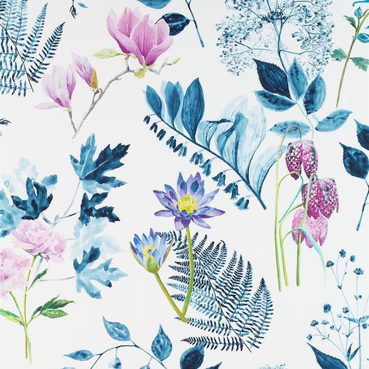 Vorhang Mokuren - 1 Stück Überraschend filigran und detailgenau: Digital gedrucktes