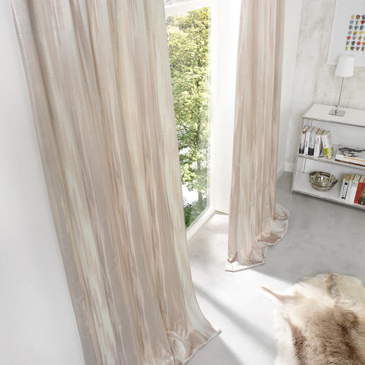 """Vorhang """"Orinoco"""", 1 Vorhang - Selten wirkt Abnutzung so edel – und ist so aufwändig gemacht."""