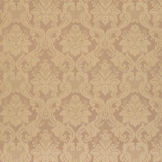 Vorhang Barocco - 1 Stück Barocke Damast-Ornamente stilvoll Ton in Ton gewebt.
