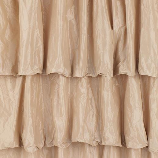 """Vorhang """"Lussuria"""", 1 Vorhang Eines Ballsaals würdig: Der Stufenvorhang aus schimmerndem Taft."""