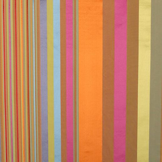 """Vorhang """"Dono"""", 1 Vorhang Webgemusterte Seide im faszinierenden Farbenspiel: Jeder Streifen ein ausdrucksvoller Blickfang."""