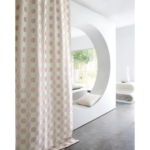 Vorhang Parana - 1 Stück Kobes Interpretation des Retro-Chics passt auch in elegantes Ambiente.