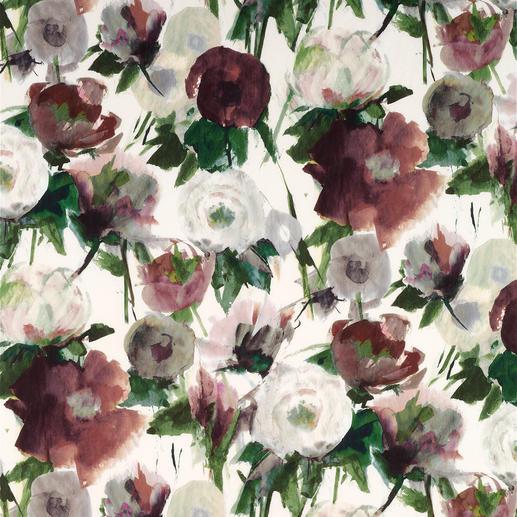 """Vorhang """"Pardes"""", 1 Vorhang Verblüffend nah am Original: Aquarell im Digitaldruck, wie von Hand gemalt."""