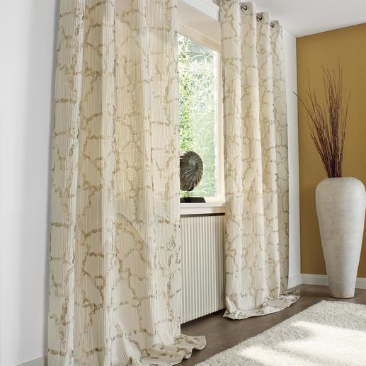 vorh nge cremefarben. Black Bedroom Furniture Sets. Home Design Ideas