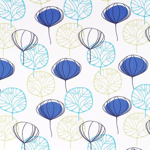 """Vorhang """"Leaf"""", 1 Vorhang Unter den neuen bunten Frühjahrs-Stoffen war dies der Publikums-Magnet auf der Heimtextil 2013."""