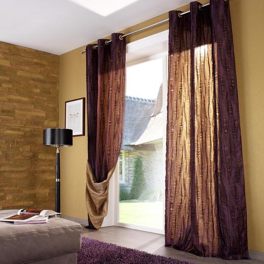 Vorhang Lasalle - 1 Stück 2 Vorhänge in einem. Und innerhalb weniger Minuten ein neuer Look.