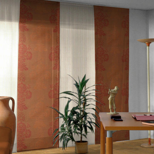 "Flächenvorhang ""Milano"", 1 Flächenvorhang - Textiles Highlight aus Trevira CS. Brandschutzgesichert. Erfüllt den Standard der Feuerwehrauflagen."