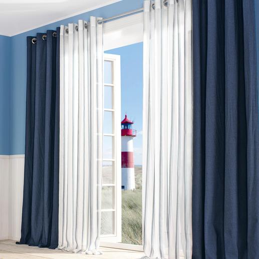 Vorhang Campo - 1 Stück Nur die besten maritimen Dessins kann man auch fernab jeder Küste empfehlen.