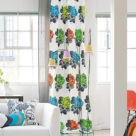 """Vorhang """"Ramblas"""", 1 Vorhang Junges Design von Weltrang. Jetzt zu einem außergewöhnlich guten Preis."""