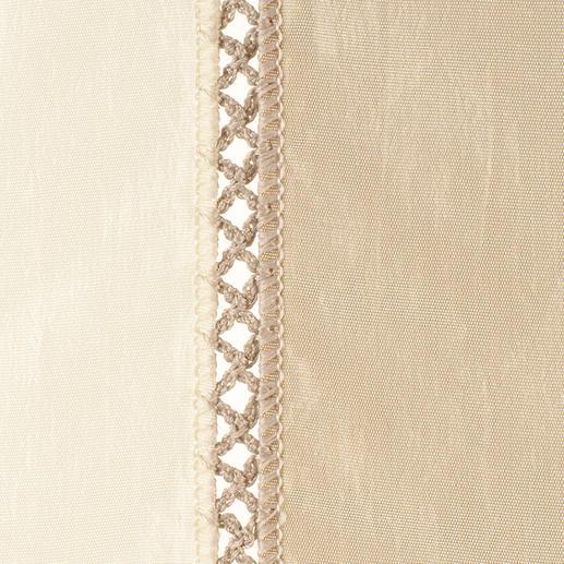 """Vorhang """"Minuetto"""", 1 Vorhang Die wohl aufwändigste Art von Blockstreifen kommt aus dem Atelier von Castello del Barro."""