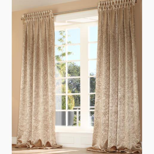 """Vorhang """"Saphira"""", 1 Vorhang - Endlich eine ganz neue Alternative zu den üblichen Verdunkelungsstoffen."""