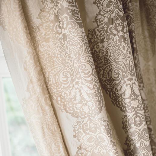 """Vorhang """"Sulpice"""", 1 Vorhang Luxus pur: Reine Seide, im neuen Eloxalverfahren gefärbt."""