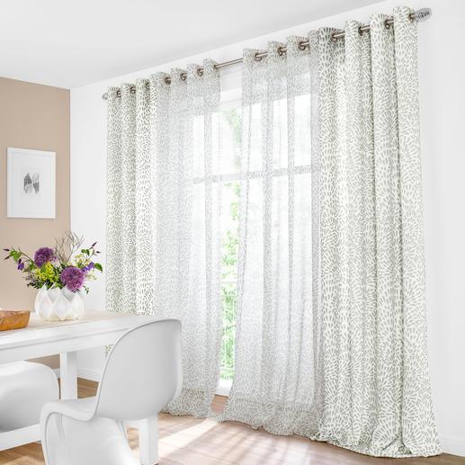 """Vorhang """"Avery"""", 1 Vorhang Wildes Muster + zahme Farben = überraschend ruhiges Bild."""