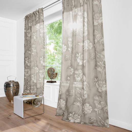 gardinen stores modern. Black Bedroom Furniture Sets. Home Design Ideas
