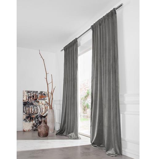 Vorhang Velvet - 1 Stück Samtiger Velours ohne übertriebenen Glanz.