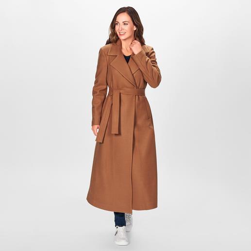 Liu Jo Maxi-Mantel Fashion Favorit Maxi-Camel-Coat: Vom italienischen In-Label Liu Jo. Für nur 299,- Euro.
