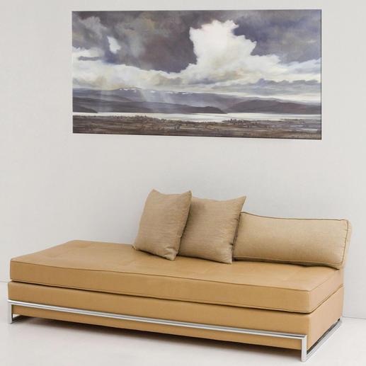 Das eindrucksvolle Wolkenspiel wird jeden Betrachter faszinieren.