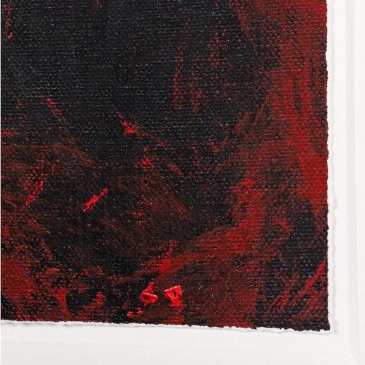 Seine Arbeiten beeindrucken durch ihre unverwechselbare Tiefenwirkung.