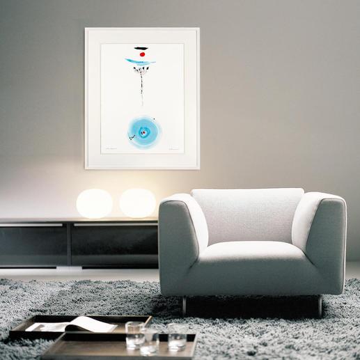 Die harmonische Verbindung der sanften Farbverläufe steht für die unverwechselbare Handschrift der Künstlerin.