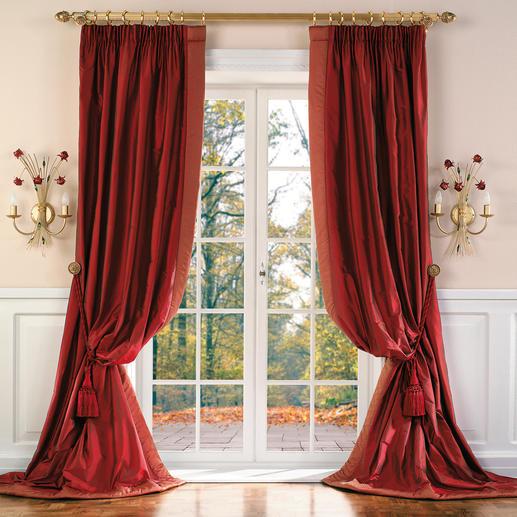 Vorhang Versailles - 1 Stück Einen so aufwändig von Hand gefertigten Vorhang werden Sie nur schwer finden.