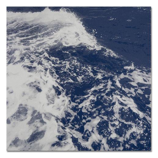 """""""Atlantik"""", ungerahmt 85 x 85 cm."""