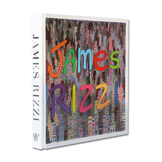 """Zur Grafik erhalten Sie die 384-Seiten-Publikation """"James Rizzi, Artwork 1993 – 2006"""" mit Original-Interviews in englischer Sprache."""