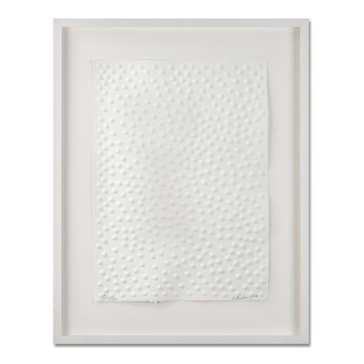 Günther Uecker – Graphein C - Prägedruck auf 300-g-Büttenpapier   Auflage: 120 Exemplare zzgl. e. a.   Blattgröße (B x H): 50 x   70 cm   Maße: gerahmt 73 x 93 cm