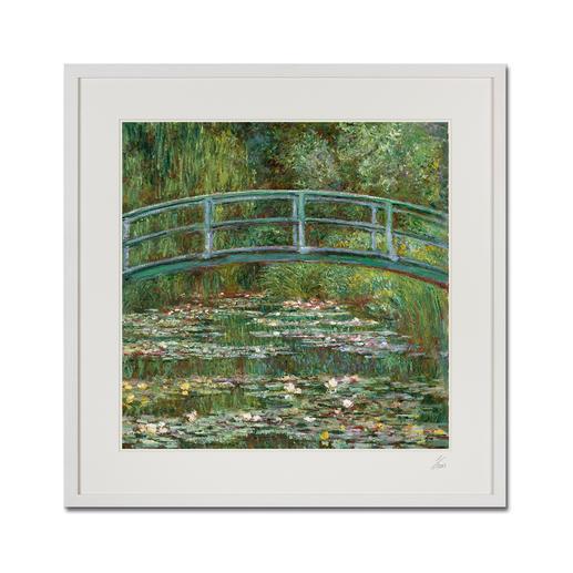 """Claude Monet – Water Lily Pond (1899) - Claude Monet """"Water Lily Pond"""" (1899) als High-End Prints™. Endlich eine Qualität, die dem großen Meisterwerk tatsächlich gerecht wird."""