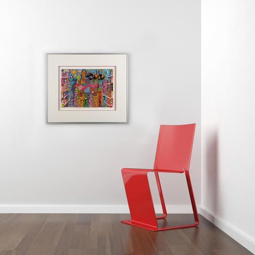 Das farbenfrohe Werk ist eine Bereicherung für jede Wohnungs- und Büroeinrichtung.