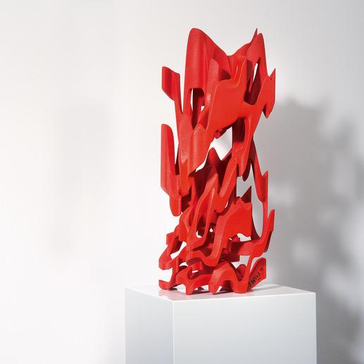 """Jürgen Mayer H.: """"Architekturskulptur"""" - Die erste Kunst-Edition des Stararchitekten Jürgen Mayer H. 3D-Plastiken – im hochentwickelten Laserverfahren erstellt. Die letzten 10 von 88 Exemplaren."""
