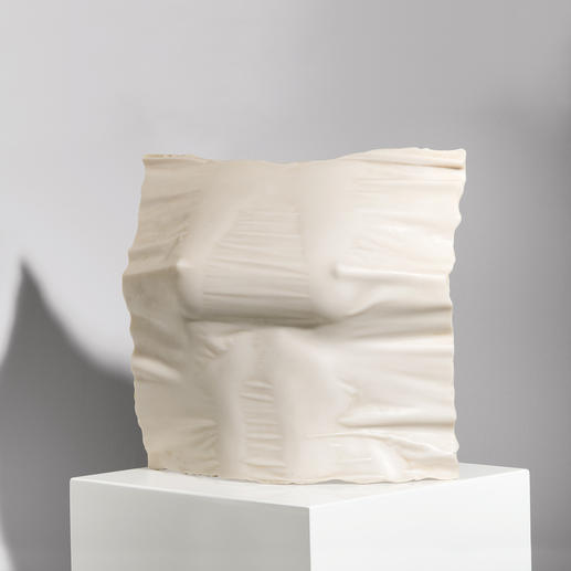 Willi Kissmer – Relief 3 Willi Kissmers erste Steingussauflage. 49 Exemplare – jedes ein Unikat. Exklusiv bei Pro-Idee. Maße: 25 x 26 x 9 cm