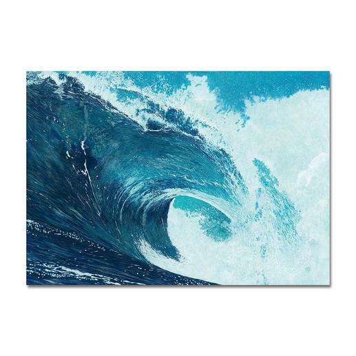 """Ingo Wegerl: """"Die Welle"""" - Handüberarbeitete Leinwandedition von Ingo Wegerl. Mit 5 mm dicker Firniss. Niedrig limitiert – in zwei Größen erhältlich."""