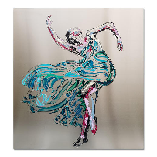Paul La Poutré – Anastasia - Paul La Poutré: Zweite Unikatserie – 100 % von Hand auf Edelstahl gemalt. (Die erste war nach wenigen Tagen ausverkauft.). 12 Exemplare. Exklusiv bei Pro-Idee.