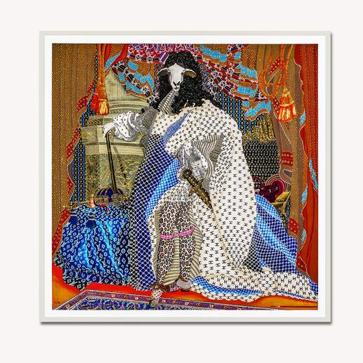 Adam Karamanlis – Status - Adam Karamanlis´ Werke bei Christie´s in Düsseldorf. Und nun bei Ihnen zu Hause. Handübermalte Edition seines bedeutendsten Werkes. 40 Exemplare. Maße: gerahmt 109 x 109 cm