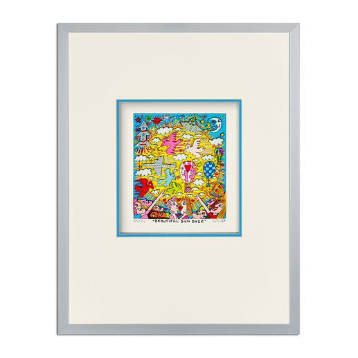James Rizzi – Beautiful sun daze - 3D-Papierskulpturen des verstorbenen James Rizzi. 350 Exemplare.