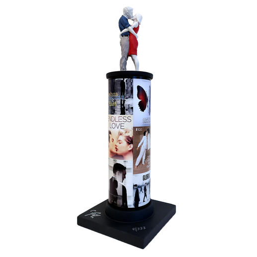 Christoph Pöggeler – Säulenheilige Love Neueste Edition der berühmten Säulenheiligen von Christoph Pöggeler. 333 Exemplare. Maße: 43 cm